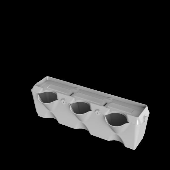 minigarden verticale module wit