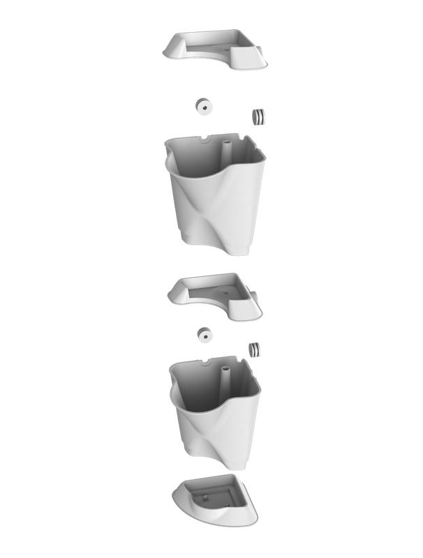 minigarden corner module montage